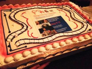 CCFF 2014 Festival Cake