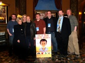 Dick Miller, Lainie Miller and members of the CFCA