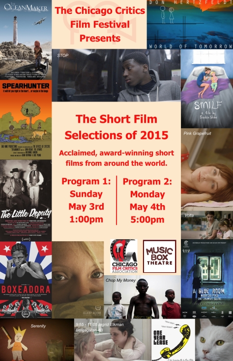 CCFF 2015 shorts poster