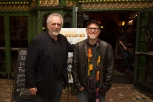 Director Bobcat Goldthwait and Barry Crimmons of CALL ME LUCKY