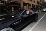 Joe Swanberg enjoys the Aston Martin