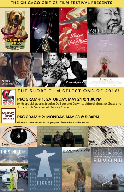CCFF 2016 shorts poster