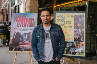Michael Pena on the red carpet