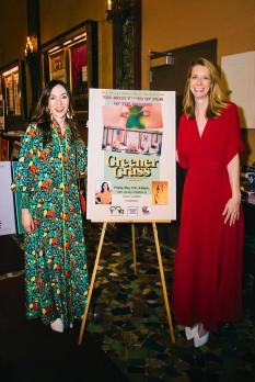 """Greener Grass"" directors and stars Jocelyn DeBoer and Dawn Luebbe."
