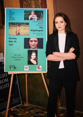 """The Nightingale"" star, Aisling Franciosi."