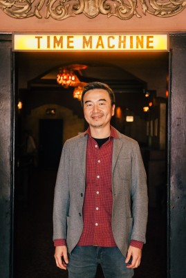 """Our Time Machine"" co-director S. Leo Chiang."