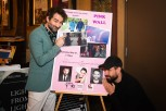 """Pink Wall"" star Jay Duplass and director Tom Cullen."